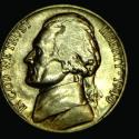 Image of 1940 Jefferson Nickel - circulated