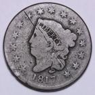 Image of 1817 15 Stars Large Cent VG