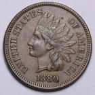Image of 1880 Indian Cent UNC
