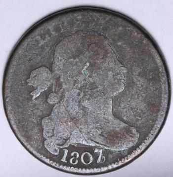 Image of 1807/6 Large Cent