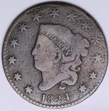 Image of 1824 Large Cent