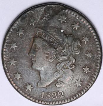 Image of 1832 Large Cent