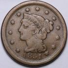 Image of 1851 Large Cent