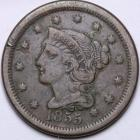 Image of 1855 Large Cent