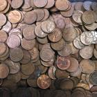 Image of  500 Coins Lincoln Wheat Cents from the 1940's and 50's