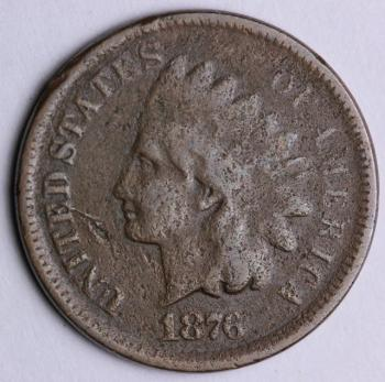 Image of 1876 Indian Cent - G