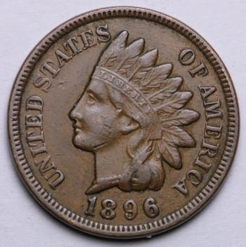 Image of 1896 Indian Cent - XF