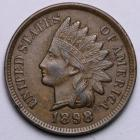 Image of 1898 Indian Cent UNC.