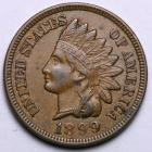 Image of 1899 Indian Cent  AU