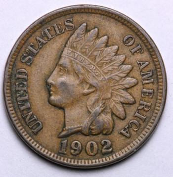 Image of 1902 Indian Cent - XF