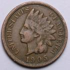 Image of 1905 Indian Cent VF