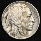Image of 1930 Buffalo Nickel XF