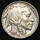 Image of 1935 Buffalo Nickel BU