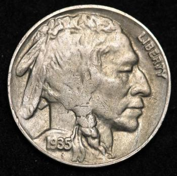 Image of 1935-D Buffalo Nickel AU+ UNC