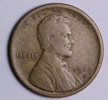 Image of 1909-S Lincoln Cent VF