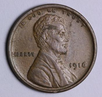 Image of 1916 Lincoln Cent BU