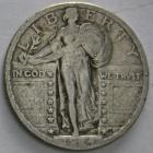 Image of 1924-S Standing Liberty Quarter VF